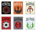 Star Wars Logos 18Pc Flat Magnet Asst (C: 1 (C: 1-1-2)