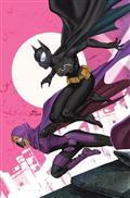 Batgirls #1 Cvr B Inhyuk Lee Batgirls Masked Left Side Connecting Card Stock Var
