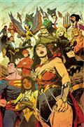Justice League 2021 Annual #1 Cvr A Sanford Greene