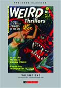 Pre Code Classics Weird Adventures Thrillers HC Vol 01 (C: 0 *Special Discount*