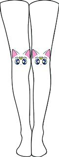 Sailor Moon Artemis Tights S/M (C: 1-1-2)