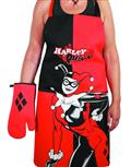 DC Heroes Harley Quinn Apron & Glove Set (C: 1-1-2)