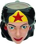 Wonder Woman Ceramic Sculpted Mug (C: 1-1-0)