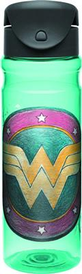 Wonder Woman Retro 26 Oz Tritan Flip Bottle (C: 1-1-0)