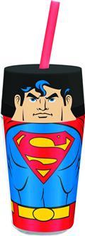 Superman 15Oz Double Wall Travel Tumbler (C: 1-1-2)