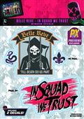 Suicide Squad Belle Reve Prison PX Logo Decal (C: 1-1-1)