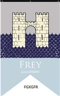 Game of Thrones House Frey Banner (C: 1-1-1)