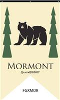 Game of Thrones House Mormont Banner (C: 1-1-1)