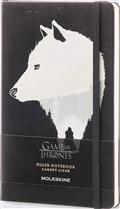 Moleskine Game of Thrones Ruled Large Notebook Black (C: 1-1