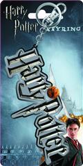 Hp Harry Potter Logo Pewter Keyring (C: 1-1-2)