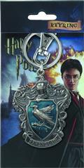 Hp Ravenclaw Crest Logo Colored Pewter Keyring (C: 1-1-2)