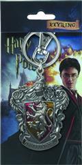 Hp Gryffindor Crest Logo Colored Pewter Keyring (C: 1-1-2)