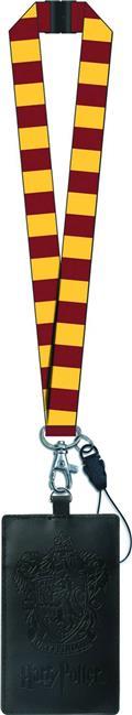 Harry Potter Gryffindor Crest Lanyard W/ Card Holder (C: 1-1