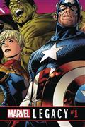DF Marvel Legacy #1 Ultra Ltd Gold Romita Sr Sgn (C: 0-1-2)