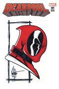 DF Deadpool #1 Haeser Sgn Remark (C: 0-1-2)