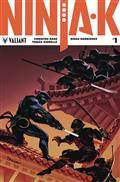 Ninja-K #1 Cvr B Troya