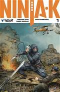 Ninja-K #1 Cvr C 20 Copy Incv Interlock Var Rocafort