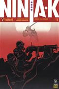 Ninja-K #1 Cvr F Pre-Order Ed Bundle Var