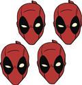 Marvel Deadpool Plate Set (C: 1-1-2)