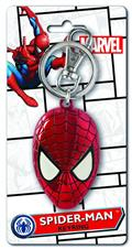 Spider-Man Head Color Pewter Keyring (C: 1-1-2)