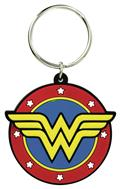 DC Comics Wonder Woman Logo Soft Touch Pvc Keyring (C: 1-1-2