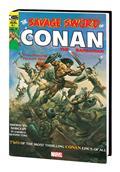 Savage Sword Conan HC Original Marvel Years Omnibus Vol 01 Vallejo