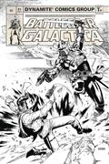 Battlestar Galactica Classic #1 20 Copy Chen B&W Incv (Net)