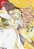 Certain Magical Index Light Novel SC Vol 17 (C: 0-1-2)