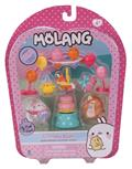 Molang Fig & Accessory Theme 3Pk Asst (Net) (C: 1-1-2)