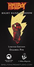 Hellboy Right Hand of Doom Enamel Pin (C: 1-1-2)