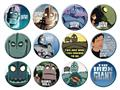 Iron Giant 144Pc Button Asst (C: 1-1-2)