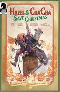 Hazel & Cha Cha Save Christmas Tales Umbrella Academy Cvr A