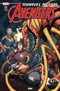Marvel Action Avengers #11 Fiorito (C: 1-0-0)
