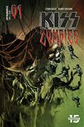 Kiss Zombies #1 Cvr B Sayger