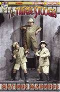 The Three Stooges Matinee Madness #1 Color Photo Cvr