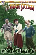 The Three Stooges Monsters & Mayhem #1 Color Photo Cvr
