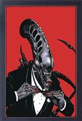 Aliens Minimal Alien Tux 11X17in Framed Poster (C: 1-1-2)