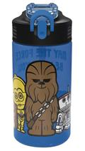 Star Wars Blue Park Straw Bottle (C: 1-1-2)