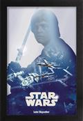 Star Wars Luke Skywalker 11X17in Framed Poster (C: 1-1-2)