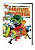 Official Handbook Marvel Universe Dlx Ed Omnibus HC