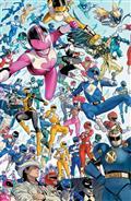 Power Rangers #1 10 Copy Mora Incv (C: 1-0-0)
