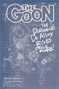 Goon #13 Cvr B Cardstock Bruno Blueprint