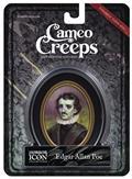 Cameocreeps Edgar Allan Poe Mini Cameo Portrait