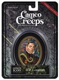 Cameocreeps H.P. Lovercraft Mini Cameo Portrait
