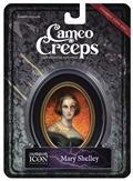 Cameocreeps Mary Shelley Mini Cameo Portrait