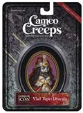 Cameocreeps Vlad Tepes Dracula Mini Cameo Portrait