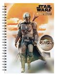 The Mandalorian Sunset A5 Wiro Journal (C: 1-1-2)