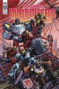 Transformers Wreckers Tread & Circuits #2 (of 4) Cvr A Milne