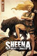 Sheena Queen Jungle #1 Cvr H 20 Copy Incv Mooney Orig Art