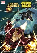 Captain America Iron Man #1 (of 5) Kubert Infinity Saga Var